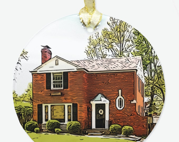 Featured listing image: Custom House Ornament