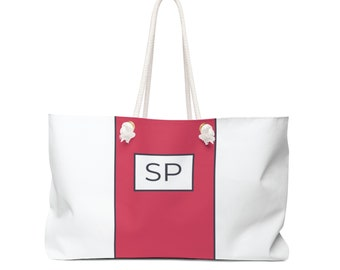 Stripe Travel Tote