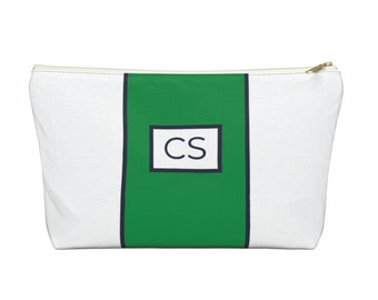 Large Stripe Pouch