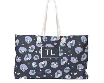 Leopard Spots Travel Tote
