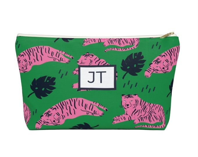 Small Tiger Print Pouch