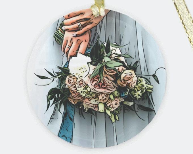 Featured listing image: Custom Wedding Bouquet Ornament
