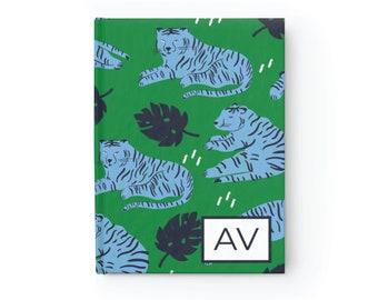 Monogram Tiger Journal