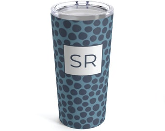 Monogram Bubble Tumbler