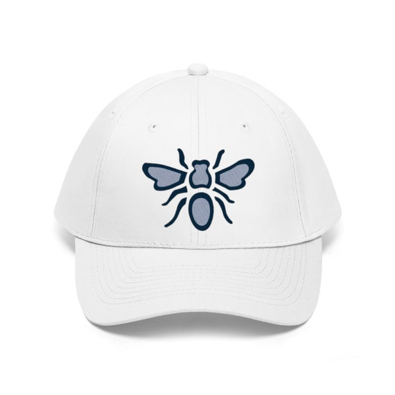 Embroidered Bee Twill Hat