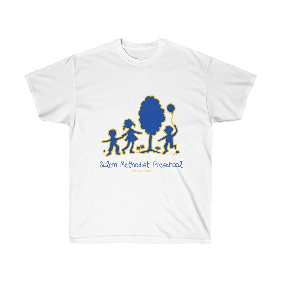 Salem Methodist Preschool Adult Colorful Logo Tee