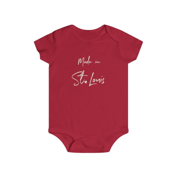 Made in STL Infant Snap Tee