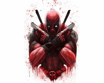 edea55ae0 Deadpool Movie Poster, Banner or Canvas