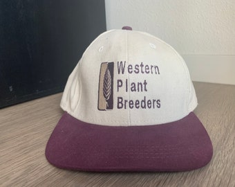 Vintage Wheat farming for Trucker Cap Wheat Producers Blue White and Gold Farm Combine Pin North Dakota Enamel Pin