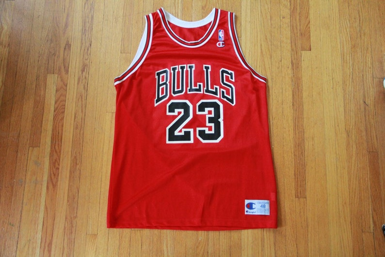 huge selection of a014e 9825b Michael Jordan Champion Jersey 48 XL Never Worn