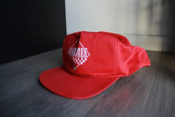 Vintage Jamboree 1994 Rope Red Snapback Hat - image 2