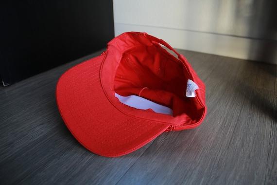 Vintage Jamboree 1994 Rope Red Snapback Hat - image 4