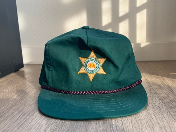Vintage California State Sheriff's Association Gre