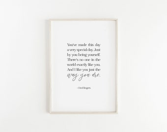 Mr Rogers Quote Etsy