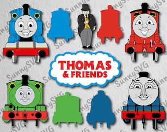 1ef3eacef4 Thomas The Train SVG, Thomas svg, Thomas The Train Clipart, Thomas The Train  dxf, Thomas and friends svg, Train monogram svg