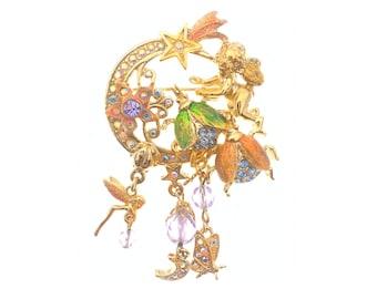 Kirks Folly Fairy Fire Flies Pin
