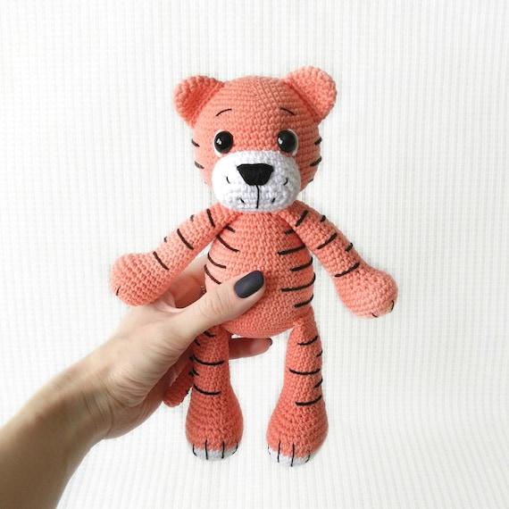 Tiger Doll Amigurumi Pattern (Crochet Pattern Books) (English ... | 570x570
