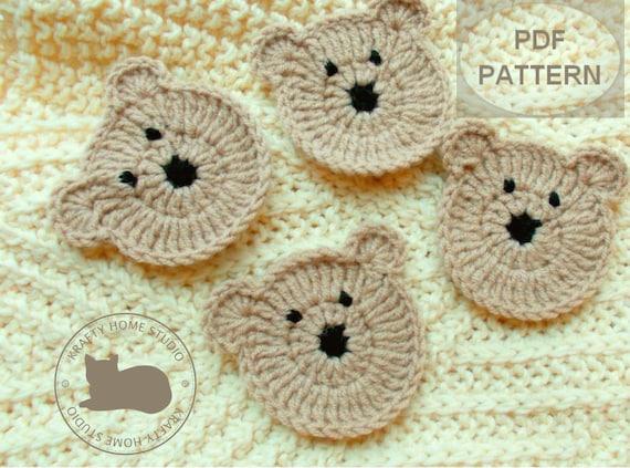 Crochet Teddy Bear - Free Pattern! - Leelee Knits | 423x570
