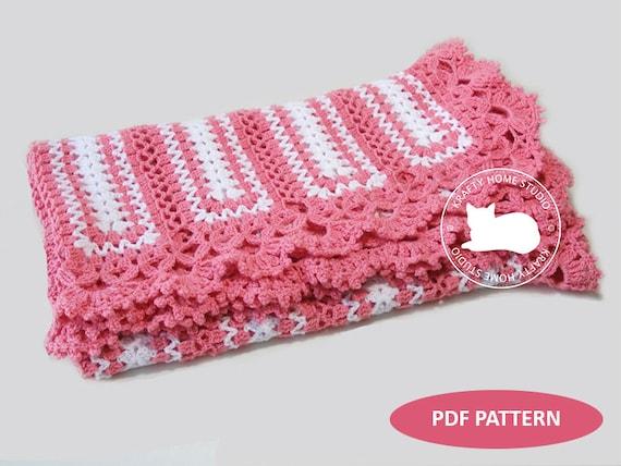 Pink Baby Blanket Victorian Lace Blanket babyshower gift Photo prop baby layer Handmade Newborn Baby Afghan Travel Stroller Pram