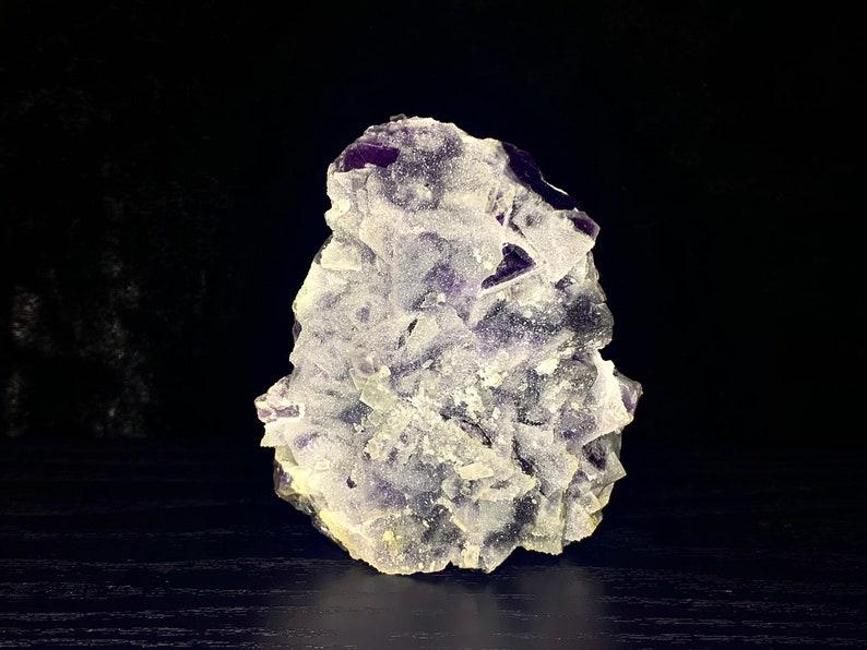 Purple Sugar Fluorite Freeform