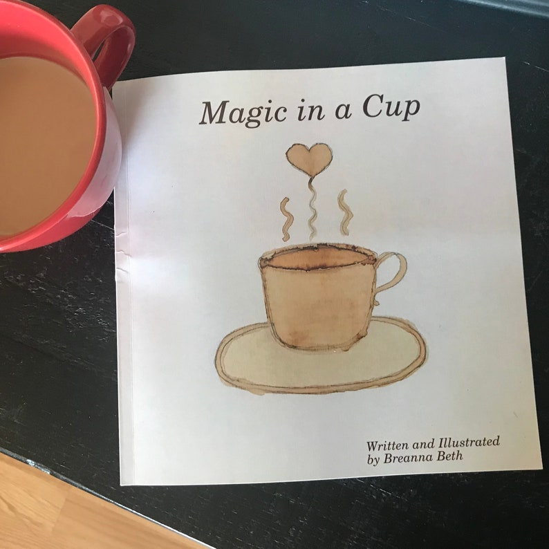BOOK Magic in a Cup  A delightful book for coffee lovers image 0