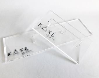 "7"" professional acrylic multipurpose cake smoother/scraper"