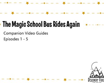 Magic School Bus Etsy