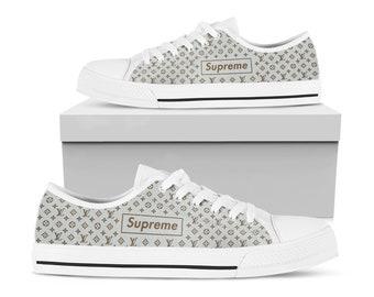 0932116f8fd9 Supreme X Louis Vuitton Classic Luxury Pattern Shoes