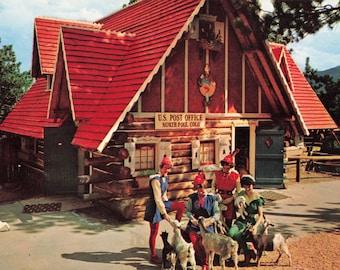 Home of Santa/'s Workshop/' Cascade Colorado USA Mini Travel Pennant Vintage /'1970 North Pole Colo