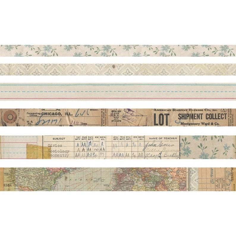 Tim Holtz Idea-ology Design Tape French Set