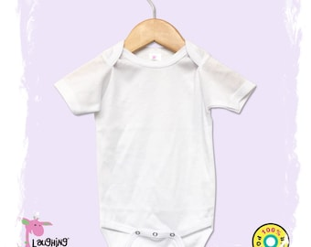 0babded4f Baby Bodysuit sublimation certified, infant blank, 100% White Polyester