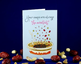 Soupermom Mother's Day Card