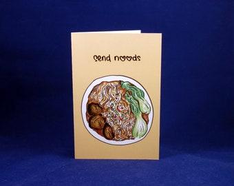 Send Noods Asian Noodle Valentine Card