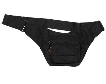 Belt bag - Nico - black - belly bag - hip bag