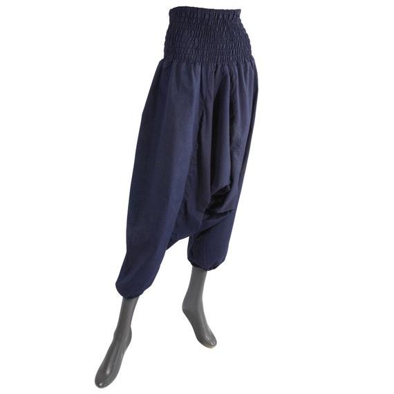 zu verkaufen Einkaufen erstaunlicher Preis Harem pants-Pluderhose-Aladinhose-Model 01-uni-dark blue