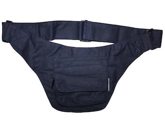 Belt bag - Nico - blue - belly bag - hip bag