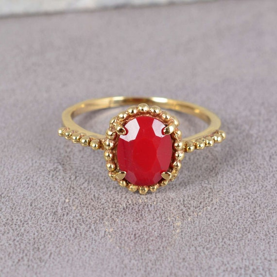 Handmade Ring Coral Jewelry,Brass Ring Boho Rings,Women ring,Unique Ring Coral  Ring,Gemstone Ring