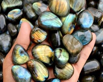 Pear Shape Multi Fire Labradorite colorful Gemstone 74.15 Carat Black Rainbow Labradorite Pendant Gemstone 57x33x6 MM Cabs Loose Stone