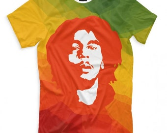 ad3563abe Bob Marley T-shirt, Men's Women's All sizes