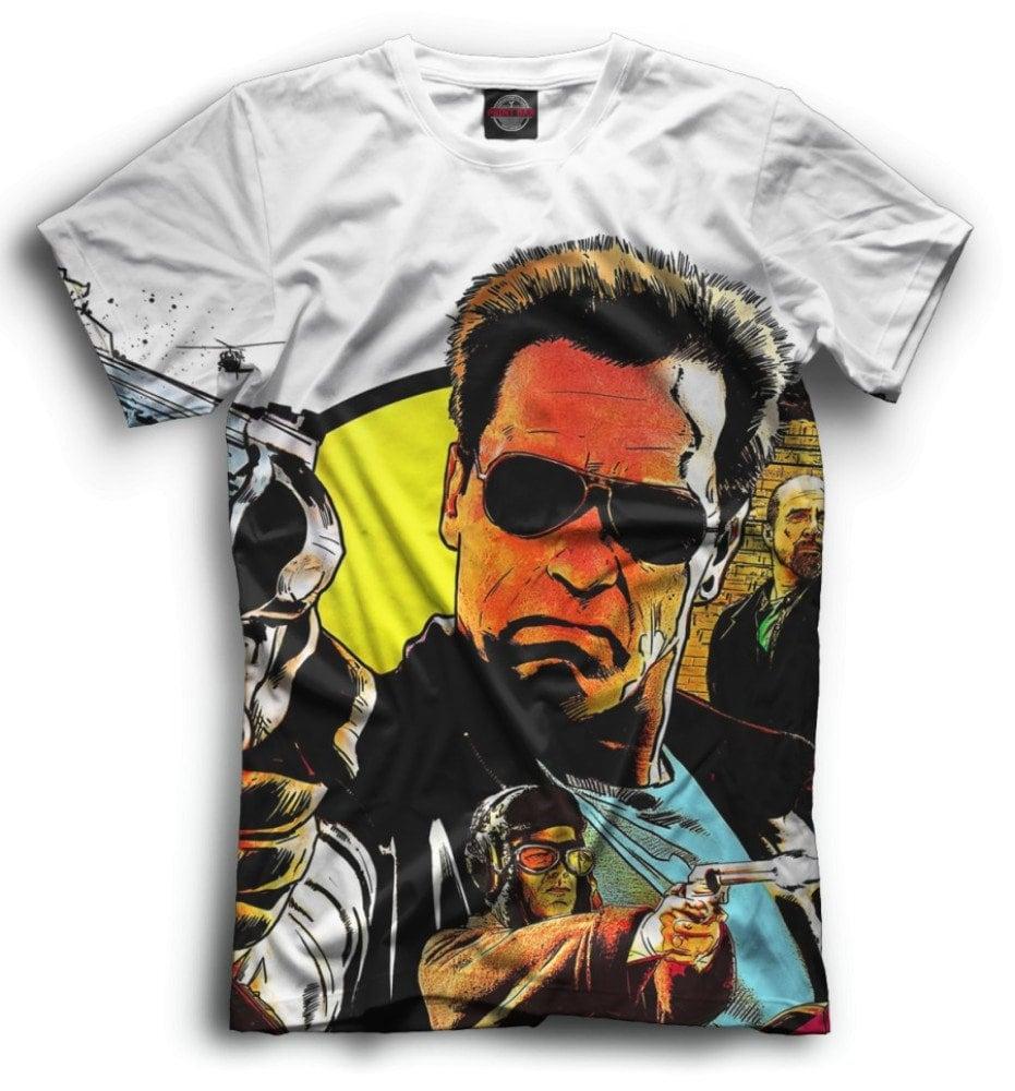 Unique Terminator Art T-shirt for Men or Women