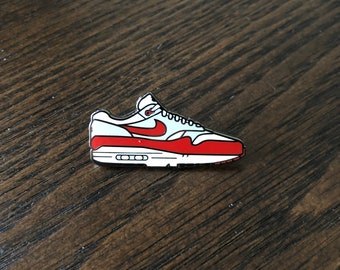 Sneakers pin | Etsy