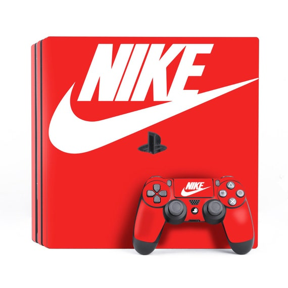 PS4 Pro Sticker PS4 Decal skin PS4 nike 4 skin Dualshock Pro ps4 red ps4 skin Skin Konsole Fat sport style Slim Ps4 Controller PS4 ps4 skin 29YeEDWHI