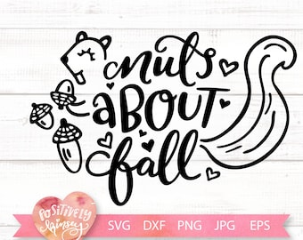Nuts For Fall Svg Etsy