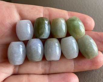 Green Jadeite 25ct Lavender Burmese Jadeite Type A Undyed Laughing Buddha 22mm Luck Prosperity Necklace 6mm Kunzite Gold Heart Charm 16/'/'