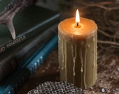 Pillar Candles, Beeswax Candle, Candle Gift Set, Organic Candles,