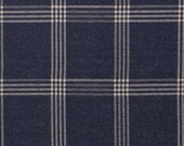 Jacquard jersey, lycks, dark blue jeans blue, beige checkered