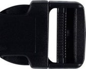 Veno, plug-in buckle, 30 mm black