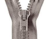 Zipper Opti divisible in grey