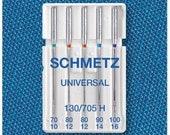 Schmetz Sewing machine needles 130/705 Standard 70-100, Universal
