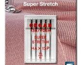 Organ, sewing machine needle HA x 1 SP Super Stretch a5 st. 075